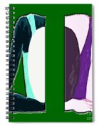 Splitting Headache Spiral Notebook