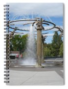 Spokane Fountain Spiral Notebook