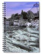 Spokane Pavilion Winter Spiral Notebook