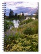 Spokane River Wildflowers Spiral Notebook