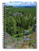 Spokane Traffic Jam Spiral Notebook