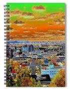 Spokane Washington Earth Spiral Notebook