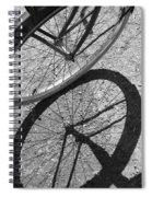 Spoke Shadows Spiral Notebook