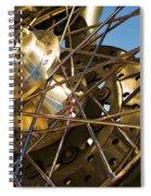 Spokes Spiral Notebook