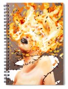 Spontaneous Combustion Spiral Notebook