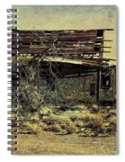 Spooky Broken House Spiral Notebook