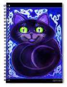 Spooky Cat Spiral Notebook