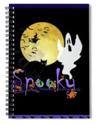 Spooky Halloween Spiral Notebook