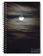 Spooky Moon Spiral Notebook