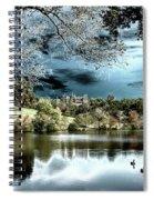 Spooky Skies Spiral Notebook