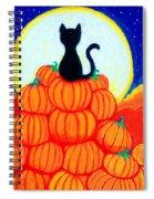 Spooky The Pumpkin King Spiral Notebook