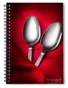 Spooning In Two Course Spiral Notebook