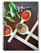 Spoons N Spices 3 Spiral Notebook