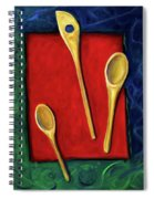 Spoons Spiral Notebook