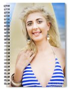 Sport And Exercise Spiral Notebook