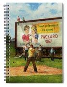 Sport - Baseball - America's Past Time 1943 Spiral Notebook