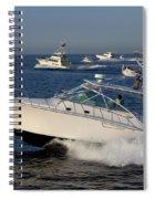 Sportfishing Boats - Cabo San Lucas Spiral Notebook
