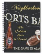 Sports Bar Spiral Notebook