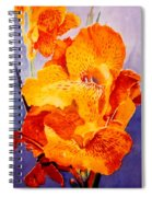 Spotted Canna Spiral Notebook