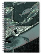 Spotted Eagle Ray Spiral Notebook