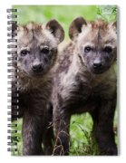 Spotted Hyena Cubs I Spiral Notebook