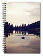 Sprague Lake At Sunset Spiral Notebook