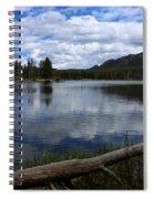 Sprague Lake Cloud Reflection Spiral Notebook
