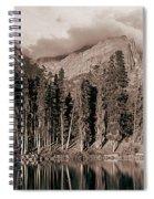 Sprague Lake Morning Spiral Notebook