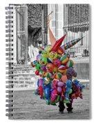 Spreading Joy Spiral Notebook