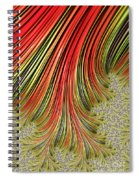 Spreading Roots Spiral Notebook