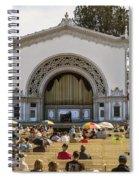 Spreckels Organ Pavilion Concert - San Diego Spiral Notebook