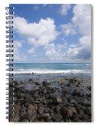 Spreckelsville, Rocky Shoreline Spiral Notebook