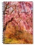 Spring - Sakura - A Beautiful Spring Day  Spiral Notebook