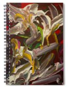Spring Abstract  -026 Spiral Notebook