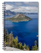 Spring Afternoon From Discovery Point Spiral Notebook