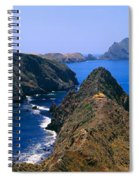 Spring At Anacapa Island, Channel Spiral Notebook