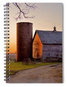 Spring At Birch Barn Spiral Notebook