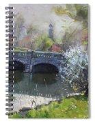 Spring At Delaware Lake Buffalo Spiral Notebook