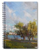 Spring At Gratwick Waterfront Park Spiral Notebook