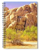 Spring At Joshua Tree Spiral Notebook