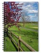 Spring At Rivercut Spiral Notebook