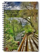 Spring At The Falls Spiral Notebook