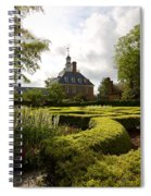 Spring At The Governor's Palace Spiral Notebook