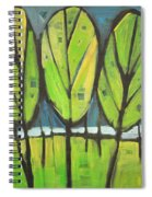 Spring At The Lake Spiral Notebook