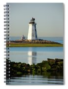 Spring At The Lighthouse Spiral Notebook