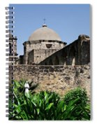Spring At The Mission Spiral Notebook