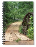 Spring At The Old Bridge Spiral Notebook