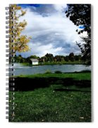 Spring At The Park Spiral Notebook