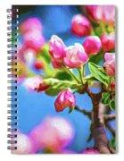 Spring Awakening 2 - Paint Spiral Notebook
