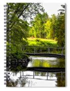 Spring Becomes The Summer Spiral Notebook